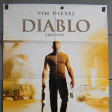 Cine: DIABLO, CARTEL DE CINE ORIGINAL 70X100 APROX (9641). Lote 38052194