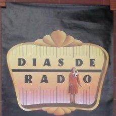 Cine: PÓSTER DÍAS DE RADIO DE WOODY ALLEN - VERSIÓN ESPAÑOLA. Lote 38092284