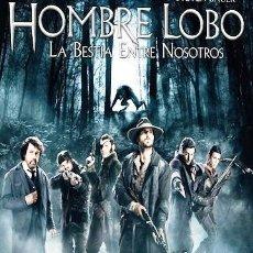 Cine: *HOMBRE LOBO - LA BESTIA ENTRE NOSOTROS * - CARTEL POSTER ORIGINAL VIDEOCLUB 70 X 100 CM.. Lote 38183400