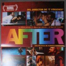 Cine: AFTER, CARTEL DE CINE ORIGINAL 70X100 APROX (10357). Lote 38358226