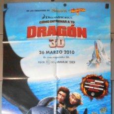 Cine: DRAGON 3D, CARTEL DE CINE ORIGINAL 70X100 APROX (11103). Lote 38611915