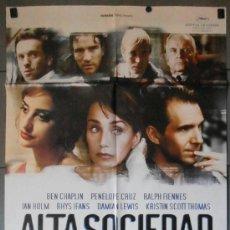 Cine: ALTA SOCIEDAD, CARTEL DE CINE ORIGINAL 70X100 APROX (11225). Lote 38613639