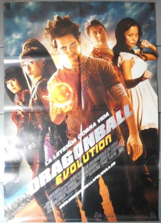 DRAGON BALL. EVOLUTION., CARTEL DE CINE ORIGINAL 70X100 APROX (11381) (Cine - Posters y Carteles - Acción)