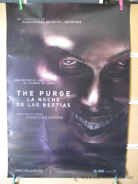 THE PURGE LA NOCHE DE LAS BESTIAS (Cine - Posters y Carteles - Ciencia Ficción)