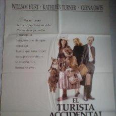 Cine: POSTER ORIGINAL EL TURISTA ACCIDENTAL . Lote 38767246