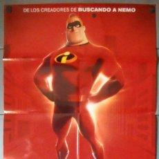 Cine: LOS INCREÍBLES, CARTEL DE CINE ORIGINAL 70X100 APROX (11634). Lote 38872490