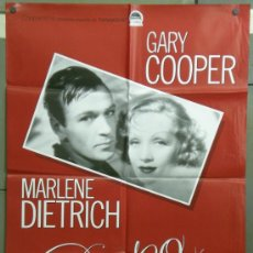 Cine: QF35D DESEO GARY COOPER MARLENE DIETRICH POSTER ORIGINAL 70X100 ESPAÑOL. Lote 39052678