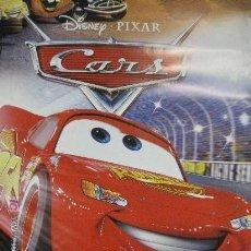 Cine: POSTER-PELÍCULA CARS-NUEVO-ORIGINAL DE LA FACTORÍA DISNEY-ESPLENDIDA ILUSTRACION-97CM ALTO POR 67,5C. Lote 48444925
