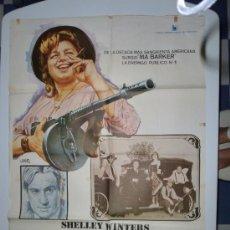 Cine: CARTEL MAMA SANGRIENTA 1970 SHELLEY WINTERS, ROBERT DE NIRO , ROGER CORMAN. Lote 39093972
