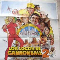 Cine: CARTEL DE CINE- MOVIE POSTER LOS LOCOS DE CANNONBALL 2. 70X100 CM.. Lote 39154874