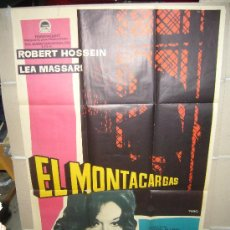Cine: EL MONTACARGAS ROBERT HOSSEIN LEA MASSARI MAC POSTER ORIGINAL 70X100 ESTRENO (9). Lote 39159475