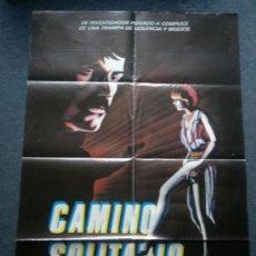 Cine: PÓSTER • CAMINO SOLITARIO (JESÚS FRANCO 1984) CARTEL DE CINE ORIGINAL. Lote 39186704