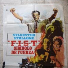 Cine: CARTEL DE CINE- MOVIE POSTER. FIST. SIMBOLO DE FUERZA. Lote 39222907