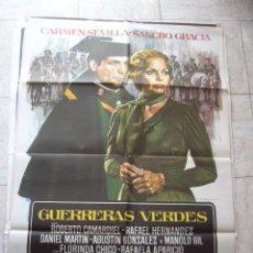 Cinéma: CARTEL DE CINE- MOVIE POSTER. GUERRERAS VERDES. Lote 39223345