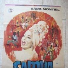 Cine: CARTEL DE CINE- MOVIE POSTER. SAMBA. Lote 39264469