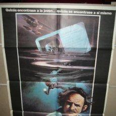 Cine: LA NOCHE SE MUEVE GENE HACKMAN TIPPI HEDREN MELANIE GRIFFITH POSTER ORIGINAL 70X100 (96). Lote 39212849