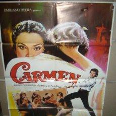 Cine: CARMEN CARLOS SAURA ANTONIO GADES POSTER ORIGINAL 70X100 (161). Lote 39250562