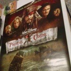 Cine: POSTER DISNEY ORIGINAL-PIRATAS DEL CARIBE EN EL FIN DEL MUNDO-NUEVO-97CM ALTO POR 68 ANCHO APROX. Lote 192794075