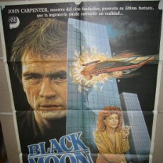 Cine: BLACK MOON LINDA HAMILTON TOMMY LEE JONES MAC POSTER ORIGINAL 70X100 (188). Lote 39280904