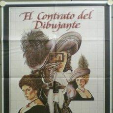 Cine: QF65 EL CONTRATO DEL DIBUJANTE PETER GREENAWAY POSTER ORIGINAL 70X100 ESTRENO. Lote 39282091