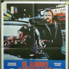 Cine: QG05D EL AMIGO AMERICANO WIM WENDERS POSTER ORIGINAL 70X100 ESPAÑOL. Lote 39298380