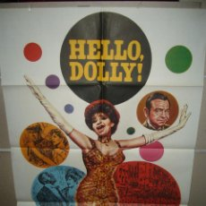 Cine: HELLO DOLLY BARBRA STREISAND GENE KELLY MAC POSTER ORIGINAL 70X100 Q. Lote 56379138