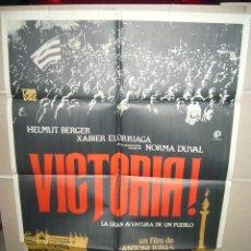 Cine: VICTORIA ANTONI RIBAS NORMA DUVAL ELORRIAGA POSTER ORIGINAL 70X100 (237). Lote 39320844