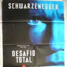 Cine: CARTEL DE CINE - MOVIE POSTER. DESAFIO TOTAL. Lote 296856153