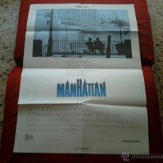 Cine: CARTEL DE CINE. PELÍCULA MANHATTAN. WOODY ALLEN (1979). CARTELMANÍA Nº 4 . Lote 39353159