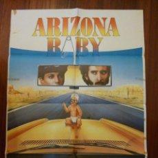Cine: CARTEL ARIZONA BABY ; JOEL Y ETHAN COEN , NICOLAS CAGE , HOLLY HUNTER. Lote 39373918
