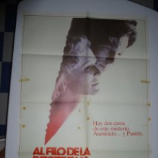 Cine: CARTEL DE AL FILO DE LA SOSPECHA . GLENN CLOSE , JEFF BRIDGES. Lote 39437591
