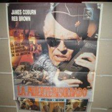 Cine: LA MUERTE DE UN SOLDADO JAMES COBURN POSTER ORIGINAL 70X100 (336). Lote 39439952