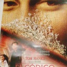 Cine: POSTER ORIGINAL-EL CÓDIGO DA VINCI--97CM ALTO POR 68 ANCHO APROX.- ESPLÉNDIDA ILUSTRACIÓN. Lote 195699797