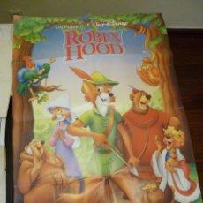 Cine: CARTEL ROBIN HOOD - DISNEY 1989. Lote 39494550