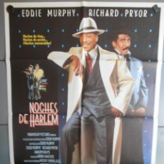 Cine: NOCHES DE HARLEM, CARTEL DE CINE ORIGINAL 70X100 APROX (1170). Lote 149704602