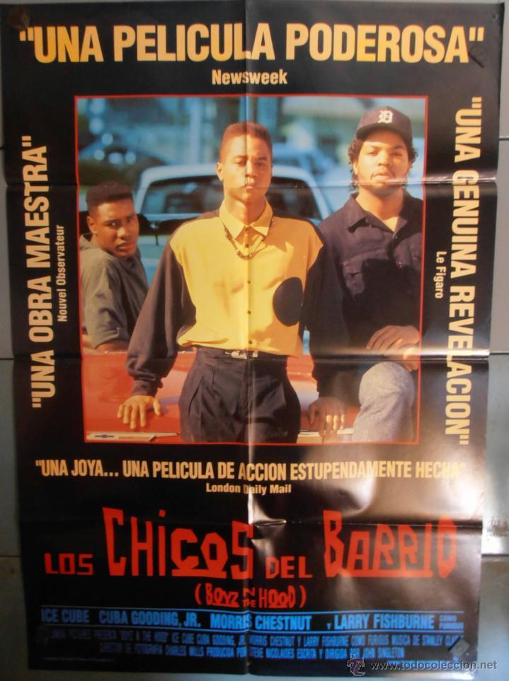 cartel de la pelicula barrio