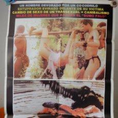 Cine: POSTER ORIGNAL NUDO E CRUDELE NAKED AND CRUEL MUNDO DESNUDO Y CRUEL BITTO ALBERTINI ALBERT THOMAS 84. Lote 39892007