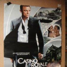 Cine: CASINO ROYALE - CARTEL DE CINE 70 X 100 APROX - SIN DOBLECES. Lote 39918466