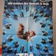 Cine: POSTER ORIGINAL ICE AGE 2 THE MELTDOWN LA ERA DE HIELO 2 CARLOS SALDANHA DOBLE LADO 20TH CENTURY FOX. Lote 39954645
