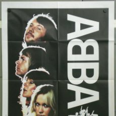 Cine: QH11 ABBA EL GRAN ESPECTACULO POSTER ORIGINAL ITALIANO 100X140. Lote 40063330