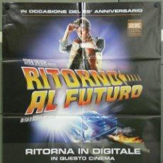 Cine: QH38 REGRESO AL FUTURO MICHAEL J. FOX STEVEN SPIELBERG POSTER ORIGINAL ITALIANO 100X140. Lote 40086283