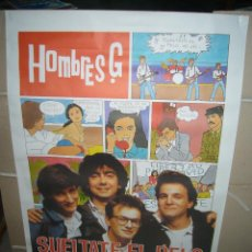 Cine: SUELTATE EL PELO HOMBRES G SUMMERS POSTER ORIGINAL 70X100. Lote 199002742