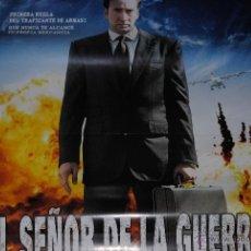 Cine: CARTEL DE CINE ORIGINAL EL SEÑOR DE LA GUERRA, NICOLAS CAGE, 2006, 70 POR 100CM. Lote 40079656