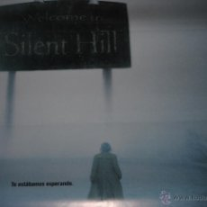 Cine: CARTEL DE CINE ORIGINAL, WELCOME TO SILENT HILL, 70 POR 100CM, NUEVO. Lote 40079704