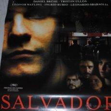 Cine: CARTEL DE CINE ORIGINAL SALVADOR, 70 POR 100CM. Lote 40081230