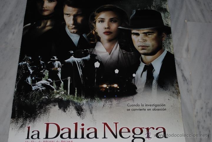 CARTEL DE CINE ORIGINAL LA DALIA NEGRA, NUEVO, 70 POR 100CM (Cine - Posters y Carteles - Suspense)