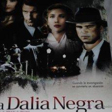 Cine: CARTEL DE CINE ORIGINAL LA DALIA NEGRA, NUEVO, 70 POR 100CM. Lote 40081504