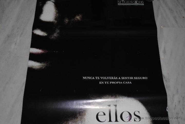 CARTEL DE CINE ORIGINAL ELLOS, NUEVO, 70 POR 100CM (Cine - Posters y Carteles - Terror)
