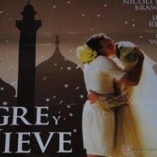 Cine: CARTEL DE CINE ORIGINAL EL TIGRE Y LA NIEVE, NUEVO, 70 POR 100CM. Lote 40081753