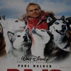 Cine: CARTEL DE CINE ORIGINAL BAJO CERO, PAUL WALKER, NUEVO, 70POR 100CM. Lote 40082745